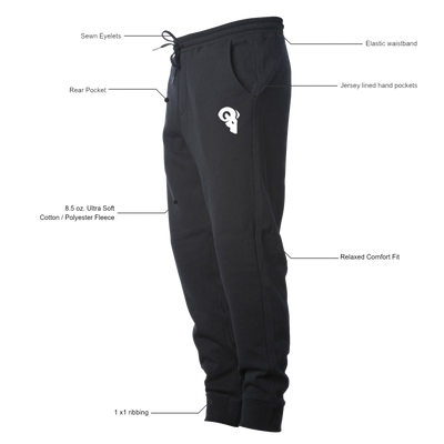Athlete Joggers (Black)