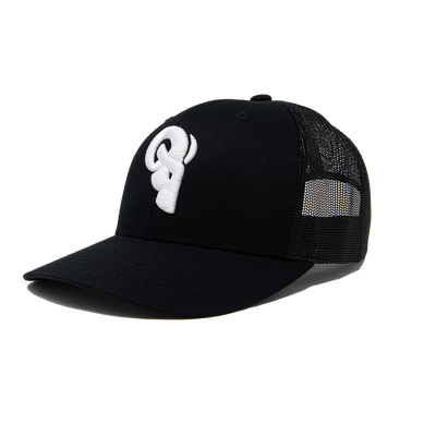Black and White Trucker / Snapback