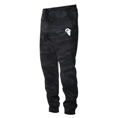 Black Camo Athlete Joggers