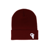 RAM Advantage® CRIMSON knit beanies are the perfect size for both men and women. Great for keeping your head and ears warm on those cold winter days.