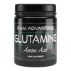 L - GLUTAMINE is an AMINO  ACID  found in foods, SUPPLEMENT and is the most abundant amino acid in the human body. It is involved in supporting immune function, HEALTHY GUT FLORA, fitness, bodybuilding and aiding in recovery and WORKOUTS.