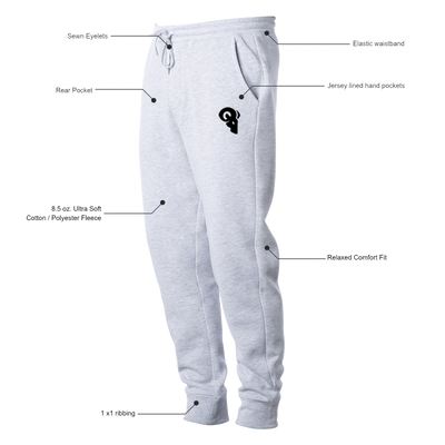 Athlete Joggers (Heather Grey)