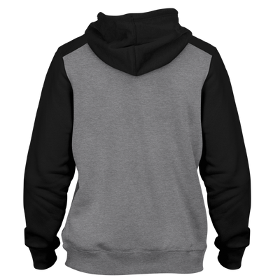 RAM Advantage 365 Drive Ultra-soft lightweight hoodie 7.0 oz (230 gm) 55% cotton/45% polyester blend fleece, raglan sleeves, jersey lined hood, split stitch double needle sewing, front pouch pocket