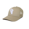 RAM Advantage® RAM ADVANTAGE premium KHAKI and WHITE 3D embroidered TRUCKER HAT