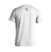 RA Logo T-Shirt RAM ADVANTAGE apparel WHITE and SILVER printed for a PREMIUM LOOK AND FEEL.