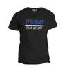 STRONGER THAN BEFORE t-shirt by RAM ADVANTAGE