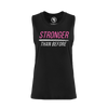 women's STRONGER THAN BEFORE muscle tank top