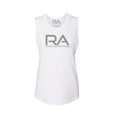 WOMEN's  RA muscle TANK TOP