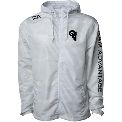 FULL ZIP RA WINDBREAKER - ARCTIC CAMO