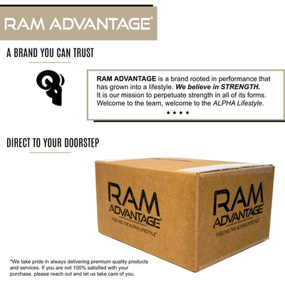 RAM ADVANTAGE snapback TRUCKER HAT in KHAKI with C-PRIME 5 the best blood sugar control supplement