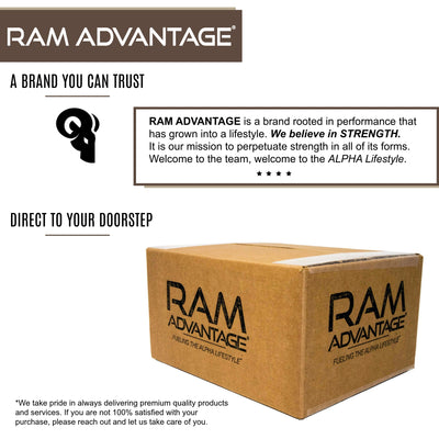 RAM ADVANTAGE premium COFFEE 3D embroidered TRUCKER HAT