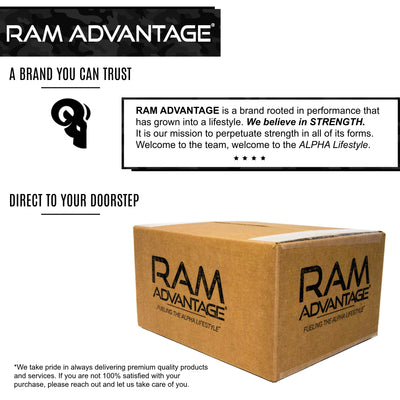 RAM ADVANTAGE trucker hats are for people who DESIRE STRENGTH DURABILITY and STYLE