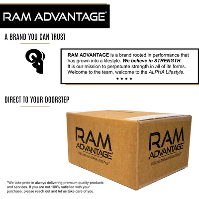 ALWAYS SHIPPED IN A BOX - All RAM ADVANTAGE trucker hats are designed and embroidered here in the United States. Orders are carefully boxed for shipment to ensure your hat shows up on your doorstep in perfect condition.