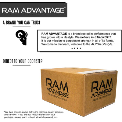 ALWAYS SHIPPED IN A BOX - RAM ADVANTAGE Trucker Hats are boxed for shipment to ensure your hat shows up on your doorstep in perfect condition.