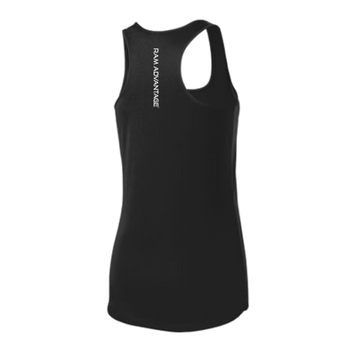 RAM ADVANTAGE® women's cross training tank tops are made from a unique fabric which provides unparalleled softness and comfort.