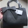 Leather Tote with Bow. - bulk offers