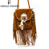 Crossbody Bag with Fringe and Tassel. - bulk offers