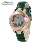 Elegant Lady Crystal Wristwatch