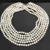 Fresh water pearl 8-9 mm multi layer luxurious necklace. - bulk offers