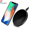 CinkeyPro QI Wireless Charging Pad 5V/1A Aluminum & Acrylic Stand for iPhone and Samsung - bulk offers