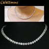 Luxurious and Sparkling Cubic Zirconia Choker Necklace - bulk offers