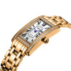 Stainless Steel Ladies Crystal Quartz Wristwatch - bulk offers