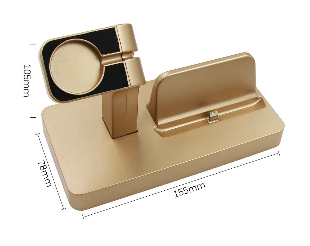 Docking Station For Apple Watch and Phone Phone Stand for iPhone ...