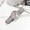 Stainless Steel Rhinestone Ladies Dress Watch. - bulk offers