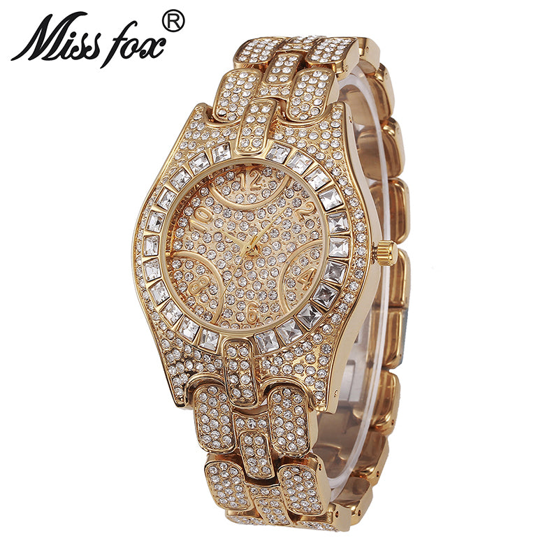 Miss Fox Stainless Steel Quartz Wristwatch