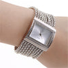 Rectangle Wristwatch with Rose Gold Bracelet - bulk offers