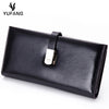 Genuine Natural Leather Long Wallet. - bulk offers