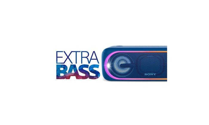 SRS-XB40: IN BASS WE MOVE - EXTRA BASS for Powerful Sound