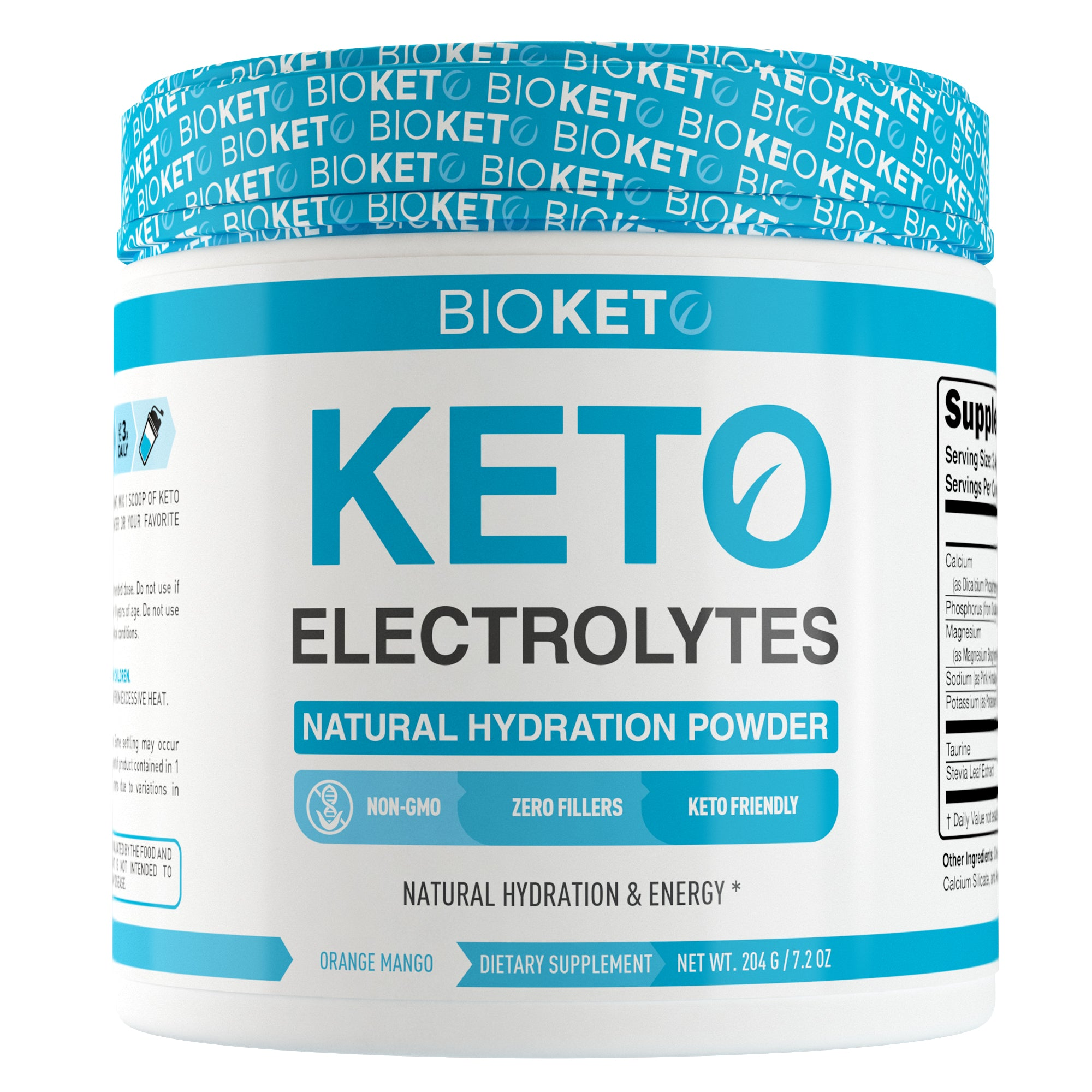 KETO ELECTROLYTES - Ketogenic Hydration Powder 60sv