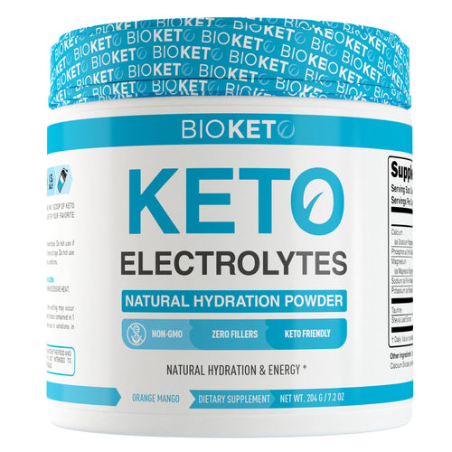 Keto Electrolytes - Natural Hydration Powder 60sv