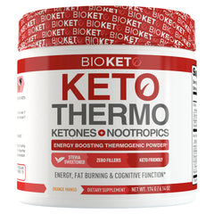 Keto Thermo - Energy Boosting Nootropic Powder
