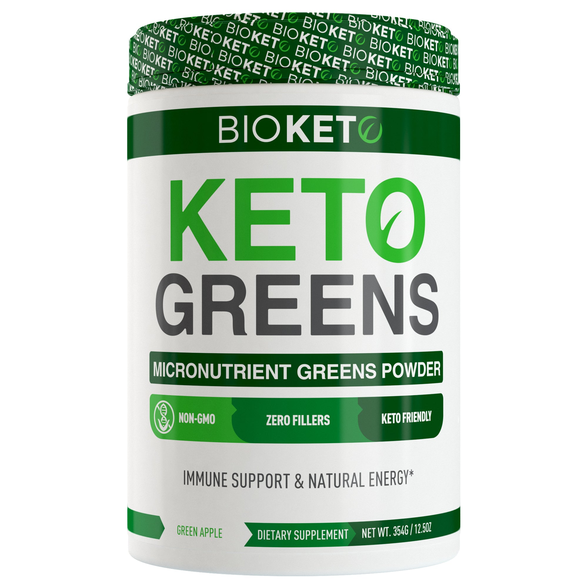 KETO GREENS - Micronutrient Greens Powder with goMCT®
