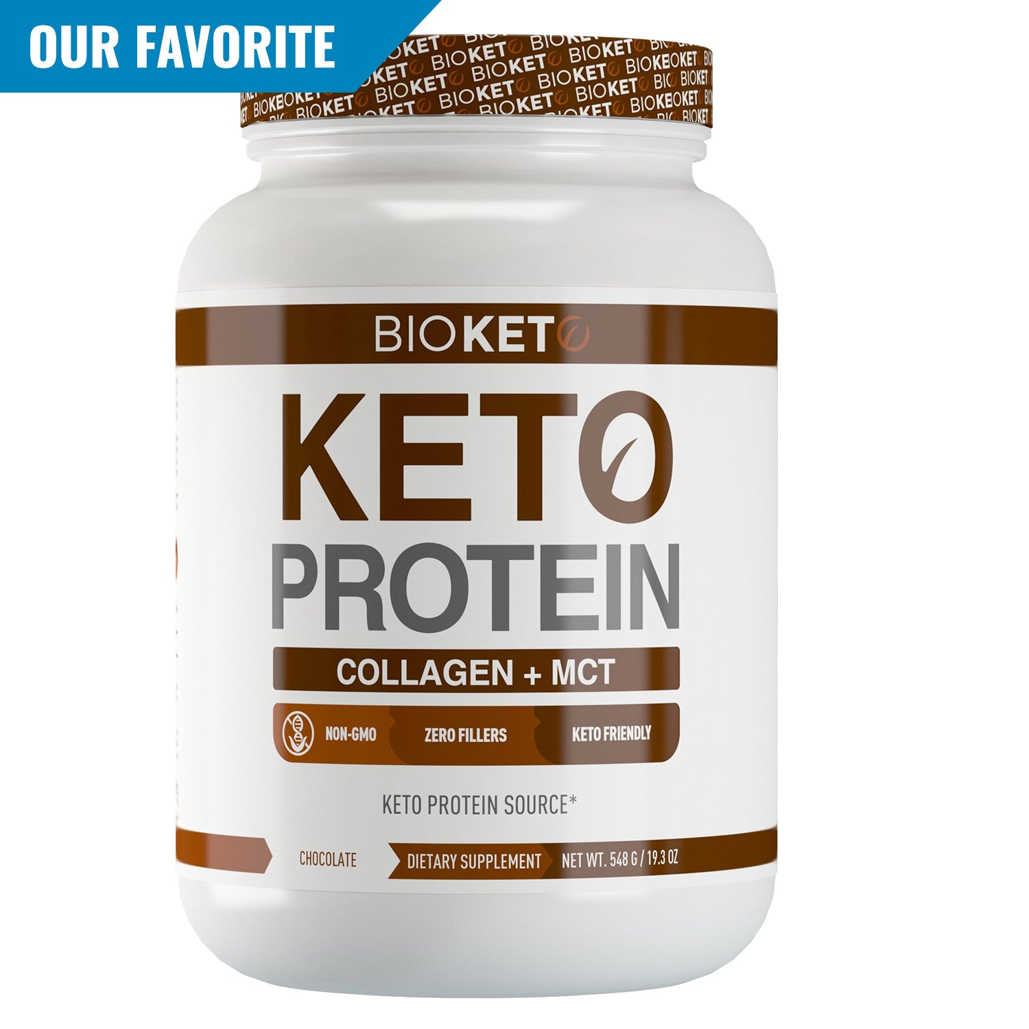 KETO COLLAGEN PROTEIN - Grass Fed Hydrolyzed Collagen w/goMCT®