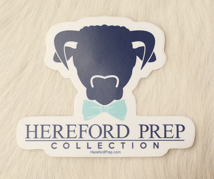 Hereford Cutout Sticker