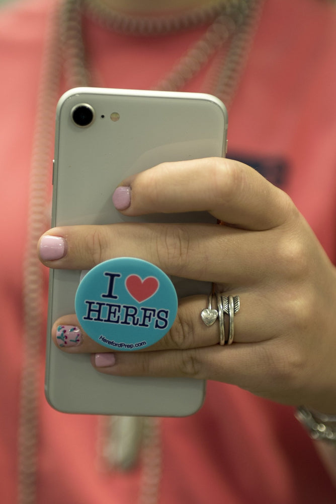 I Love Herfs Pop Socket