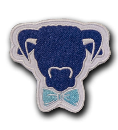 Hereford Prep Cutout Dude Patch