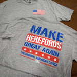 Make Herefords Great Again - Heather Grey Adult Shirt