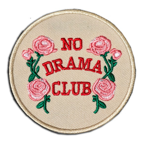 No Drama Club Patch