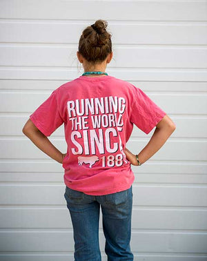 Running The World Since 1881 Youth Shirt
