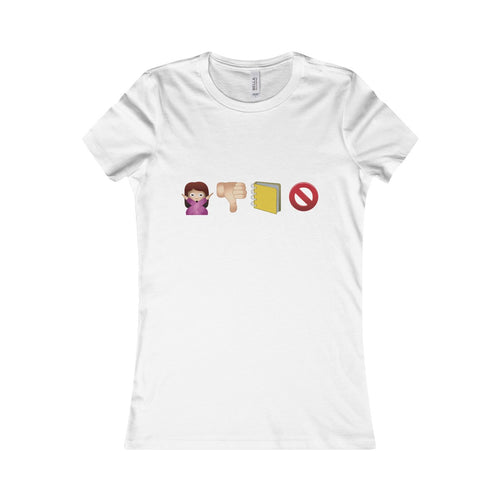 Women's Favorite Tee - Don´t judge the book by the cover