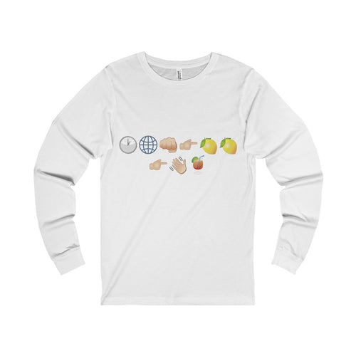 Unisex Jersey Long Sleeve Tee - When life gives you lemons...