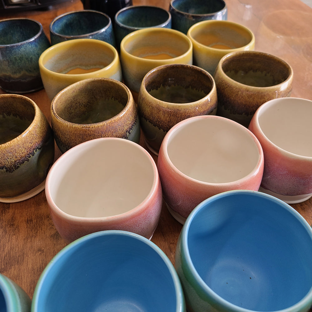 Place of Grace Pottery Mugs - shortie