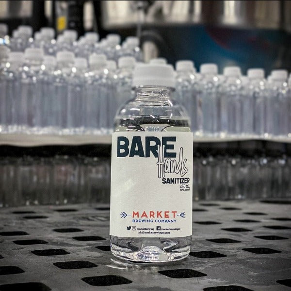 Bare Hands Sanitizer - 250ml Bottle