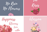 Pink Floral iPhone Wallpaper Collection