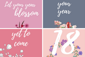 Happy 2018 iPhone Wallpaper Collection | Blossom Cases
