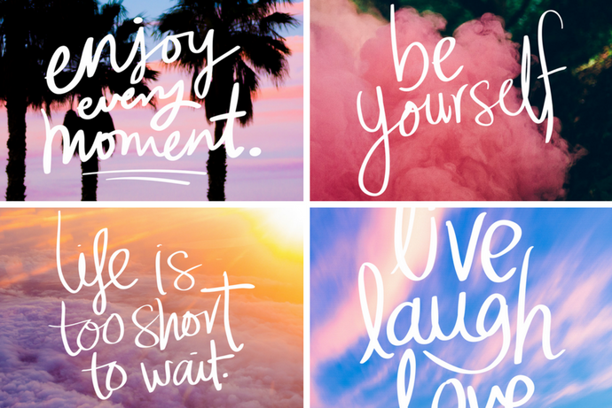 Positivity Boost iPhone Wallpaper Collection